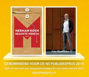 Geachte heer M. | Herman Koch | Bladzijde26.nl
