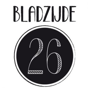 Een eigen logo voor Bladzijde26: yippie!
