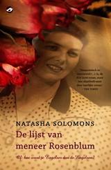 13538042-De-lijst-van-meneer-Rosenblum-Natasha-Solomons