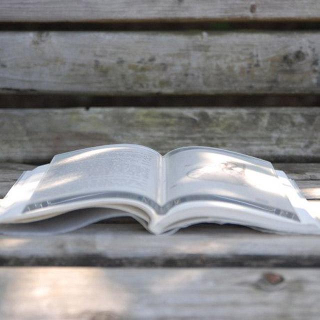 Leesgadget: boekgewicht | Bladzijde26.nl