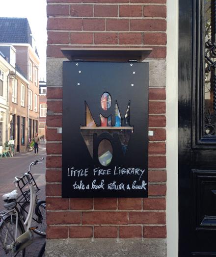 Minibieb in Den Bosch bij Nom Nom