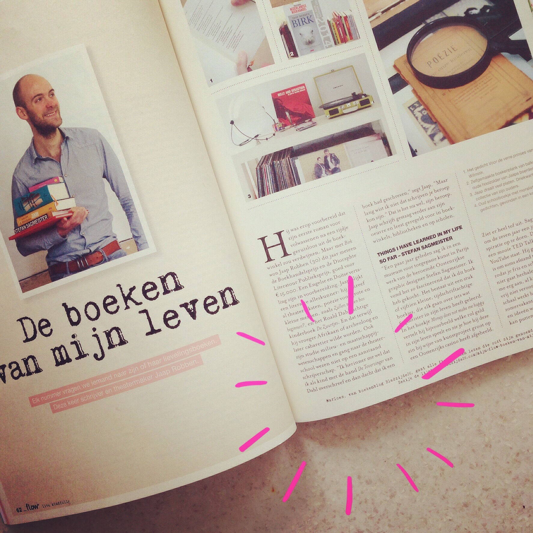 Bladzijde26 in Flow Magazine