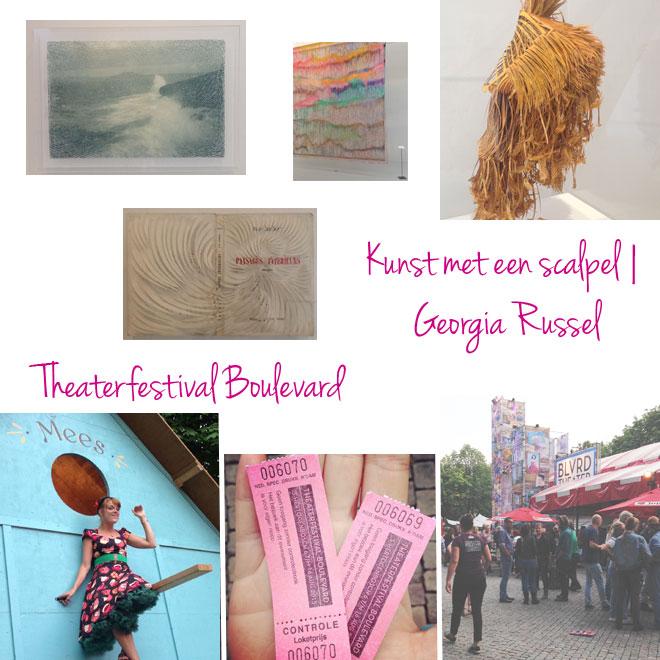Bladzijde26 | Georgia Russel in Noordbrabants Museum | Theaterfestival Boulevard