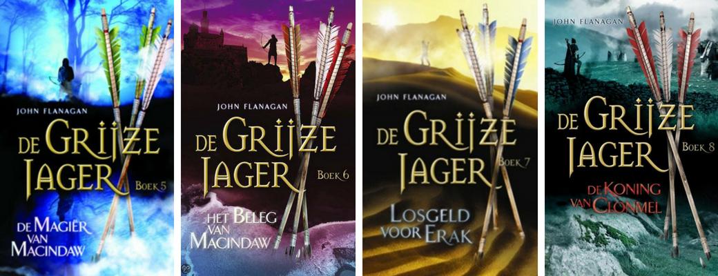 De Grijze Jager | John Flanagan | deel 5 t/m 8 | Bladzijde26.nl