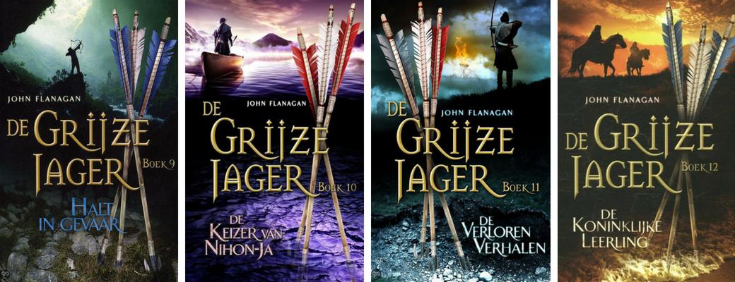 De Grijze Jager | John Flanagan | deel 9 t/m 12 | Bladzijde26.nl