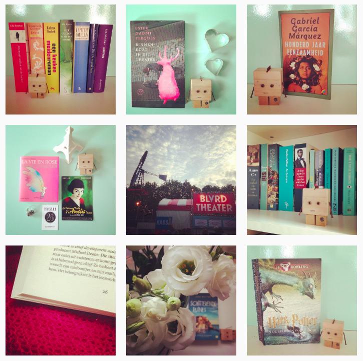 Bookstagram challenge augustus 2016