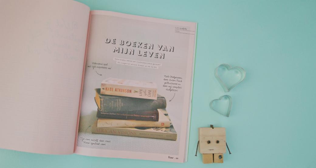 Nieuwe boeken voor mijn #Flowboekenchallenge - Cover artikel