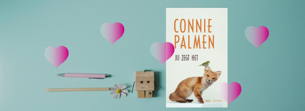 Jij zegt het | Connie Palmen