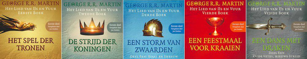 George RR Martin | Het lied van ijs en vuur (boeken Game of Thrones)