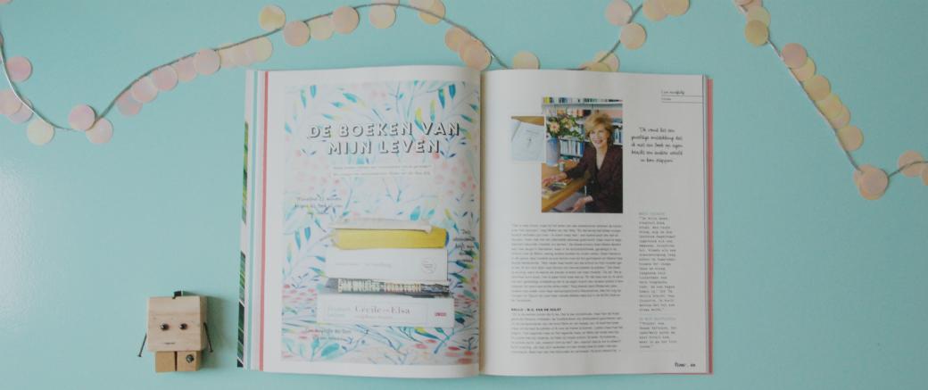 Boeken van mijn leven | Mieke van der Weij | #flowboekenchallenge
