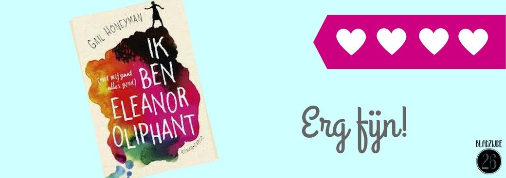 Ik ben Eleanor Oliphant (met mij gaat alles goed) | Gail Honeyman