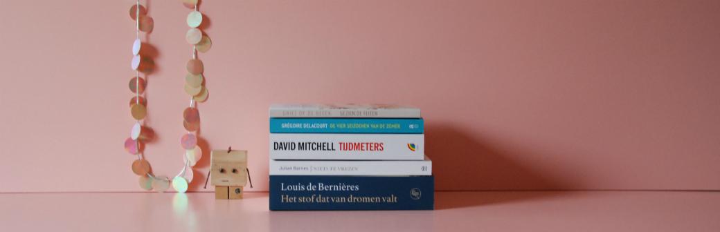 Boekenweek 2018 | Nieuwe leesvoorraad voor Bladzijde26.nl