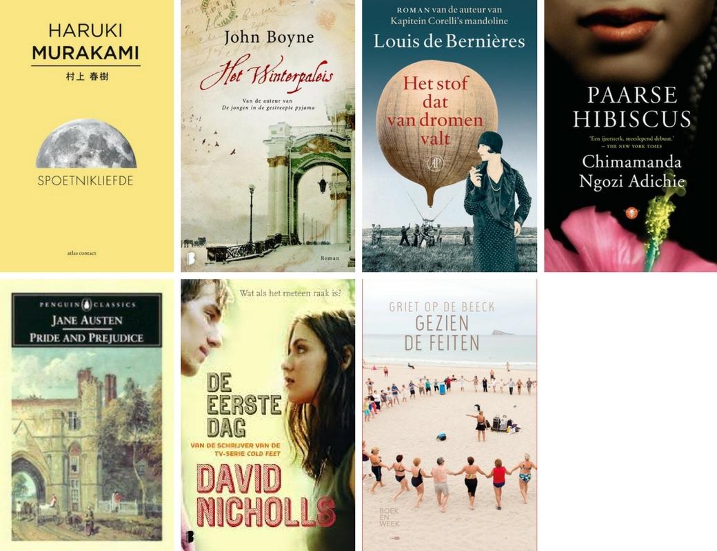 Gelezen boeken | 26 maart - 26 april 2018 | Bladzijde26.nl