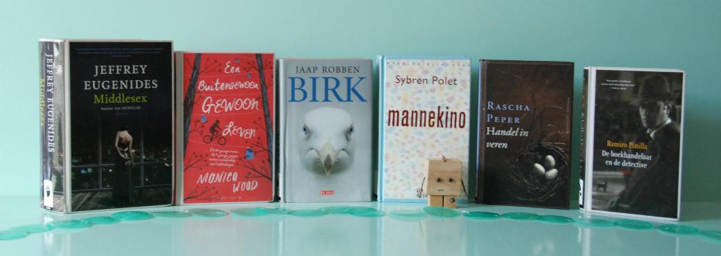 De hele oogst van mijn bibliotheek-bezoek van juli | Bladzijde26.nl