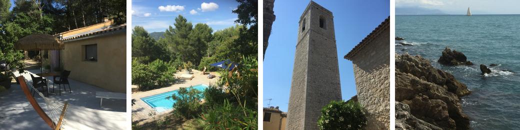 Vakantiefoto's 2018 Provence + Vence: huisje
