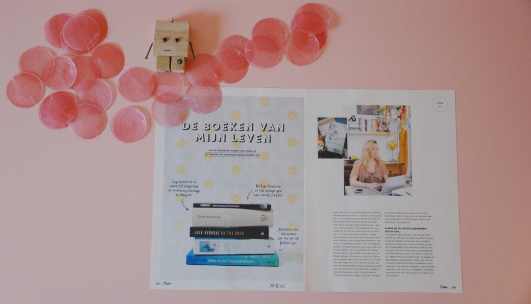 Flow Boeken van mijn leven | Wanda Bommer | Bladzijde26.nl