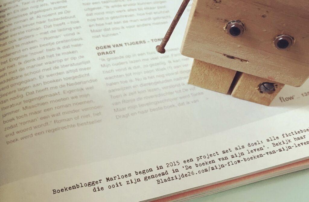 #Flowboekenchallenge - een mention in Flow Magazine :)